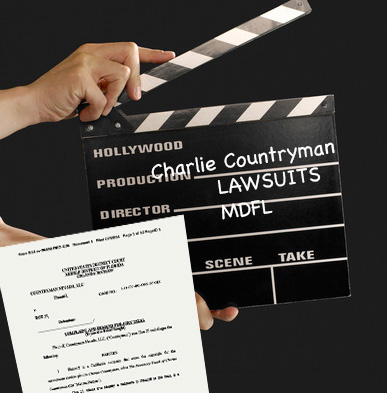 Charlie Countryman lawsuits by Countryman Nevada