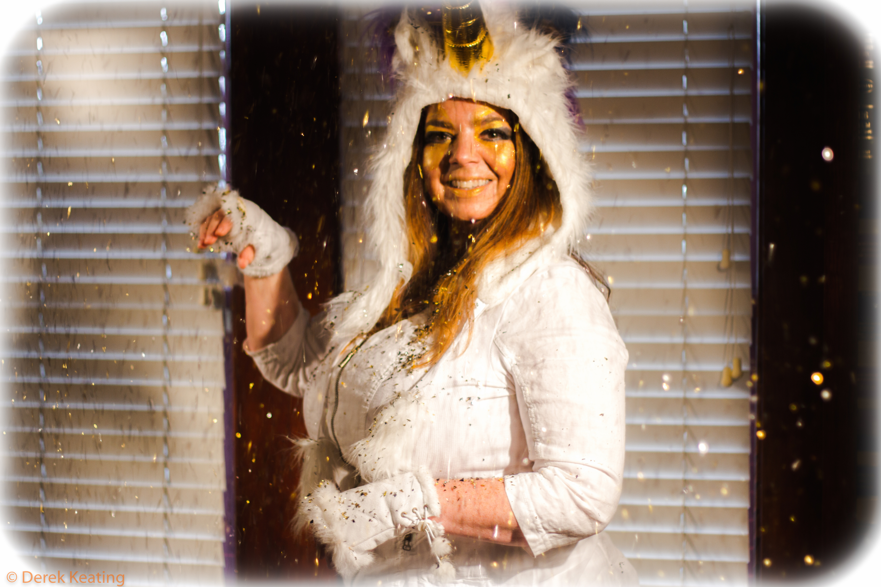 Cynthia Conlin - Golden Unicorn- Halloween