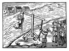 Drowned Witch Woodcut